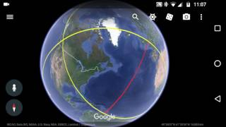 New Google Earth App import KML KMZ files Free HD Video