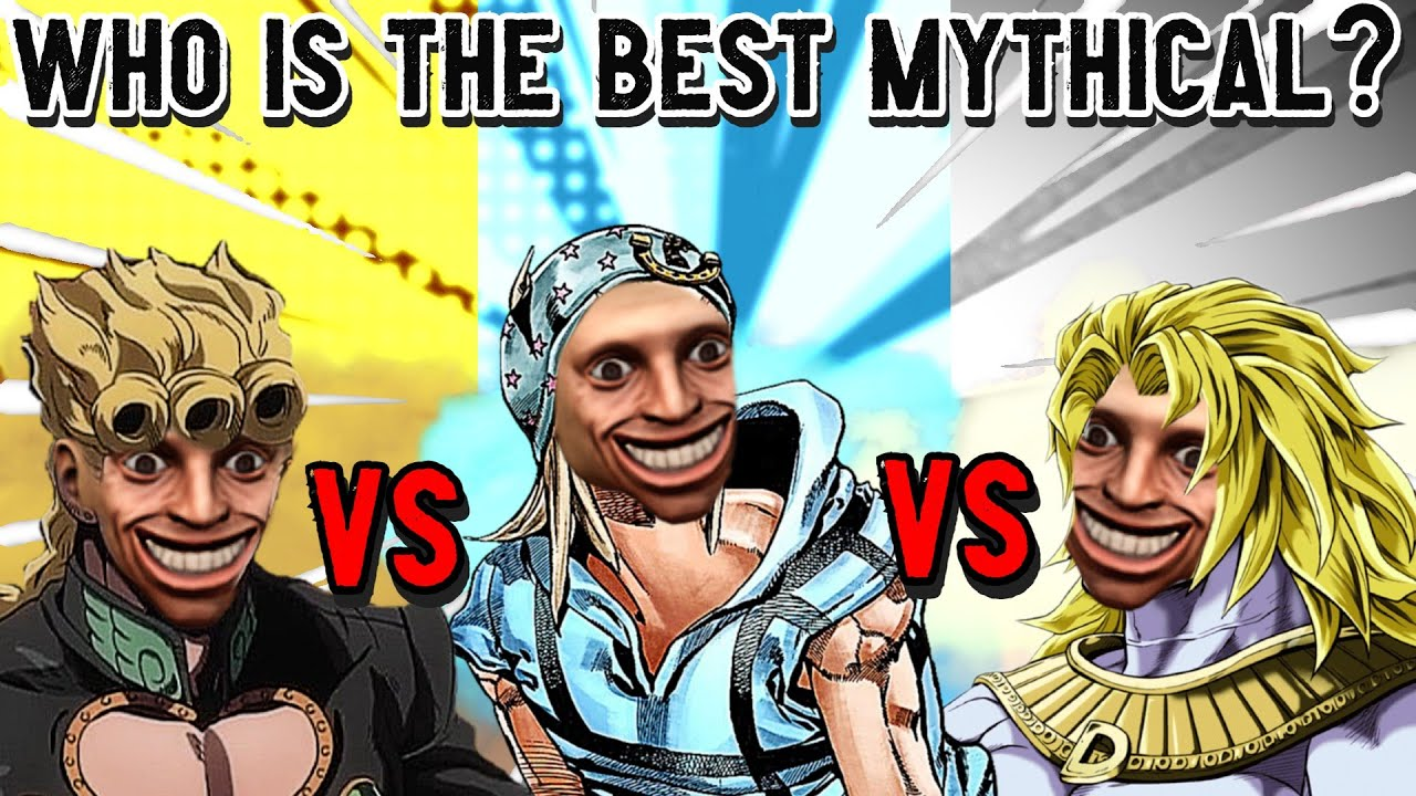 Download Using 200,000 IQ TO FIND THE BEST MYTHICAL IN ANIME MANIA!! RANKING 3 MAX LEVEL MYTHICALS FROM JOJO!
