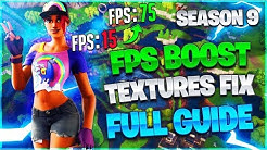 fortnite fps increase guide stretched resolution - Free