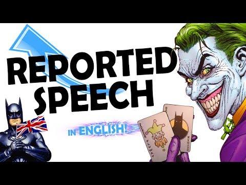 Reported Speech | ENGLISH GRAMMAR VIDEOS