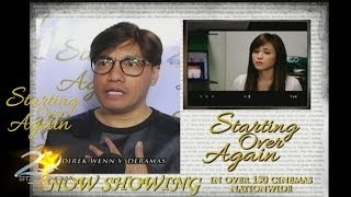 Starting Over Again (Ginger Conejero, Alex Cabagnot, Moi Bien, Benjamin Alves, Direk Wenn)