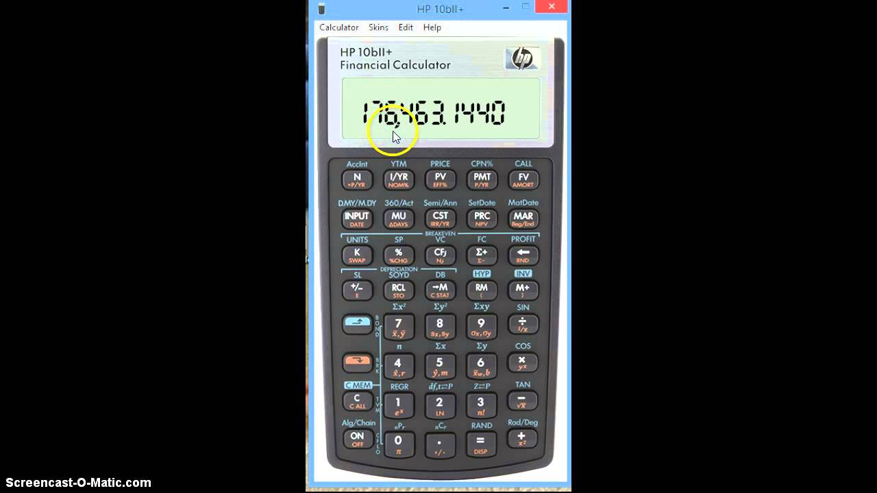 three basics on hp 10bii financial calculator youtube rh youtube com hp 10bii financial calculator manual download HP Calculators