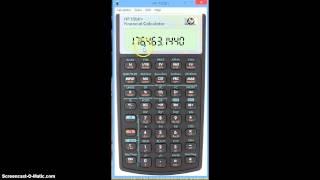 Three basics on HP 10bII Financial Calculator