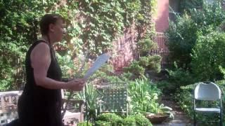 6BC Garden Cheryl Pyle -solo C flute / Alto Flute -Sept  10, 2016