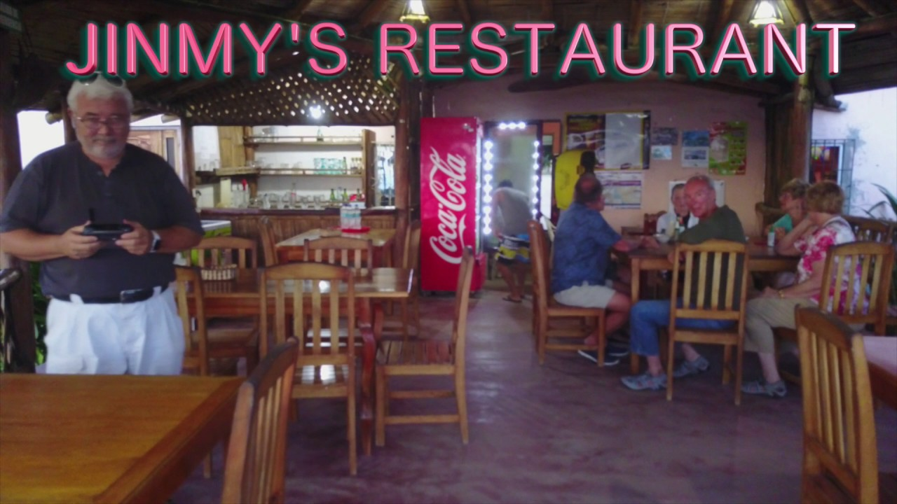 Jinmy's Restaurant Drone Shots with Cuenca Guests
