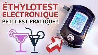 TEST D'UN ÉTHYLOTEST ELECTRONIQUE avec écran LCD | ALCOOTEST POUR TOUJOURS CONDUIRE SOBRE !!! 🥂🍷🍹