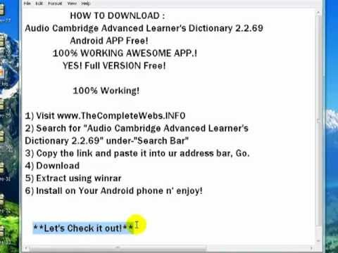 Full Version Oxford Dictionary - Free downloads and