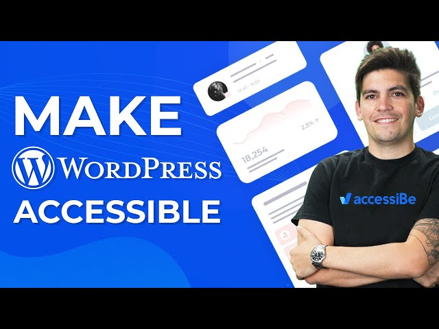 How To Make Your WordPress Website Accessible (IMPORTANT)