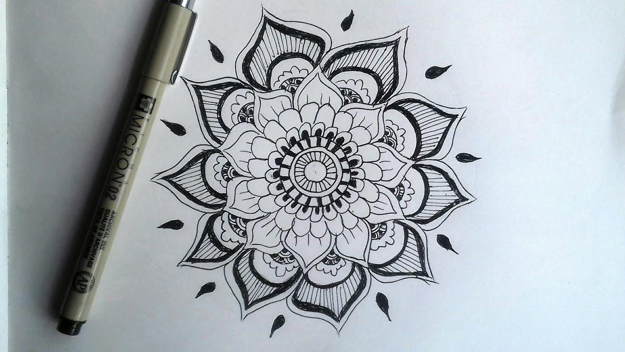 How To Draw Mandala Art Design