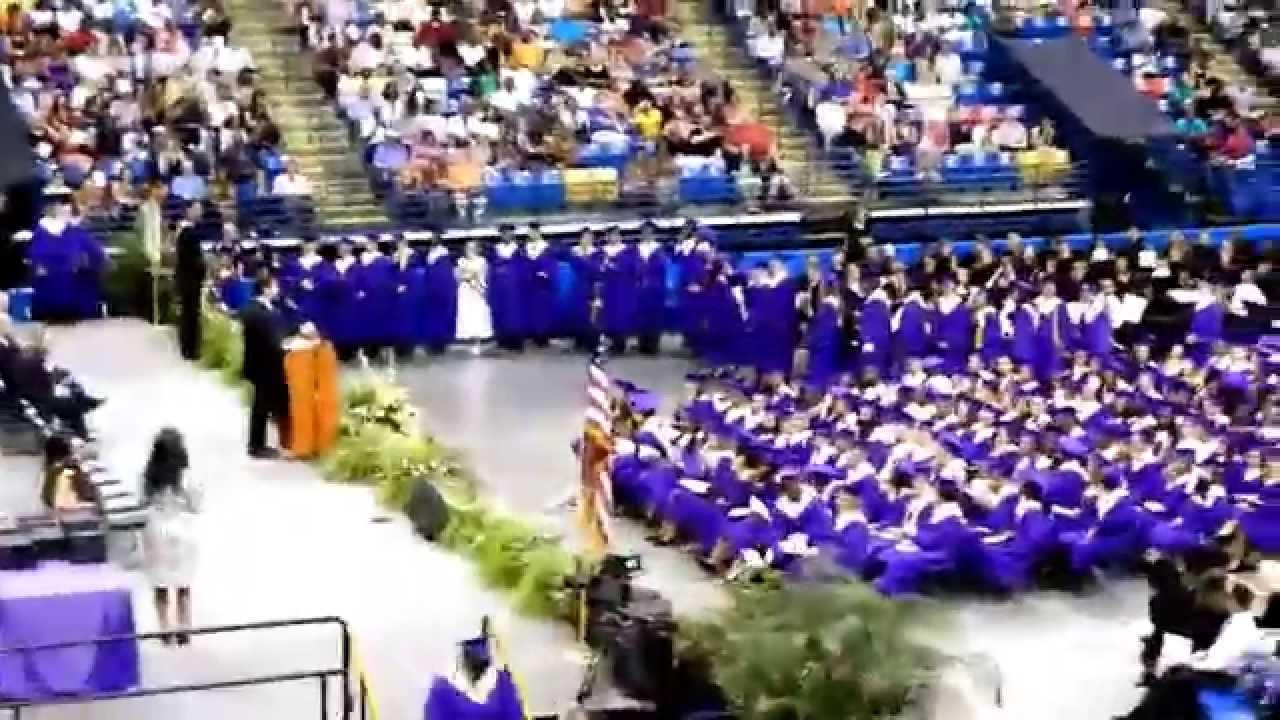 Quinton Murphy Strips at Jack Britt High School Graduation 2014 ...