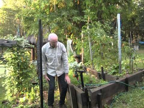 Organic Garden Design Tips For Sloping Land - Youtube
