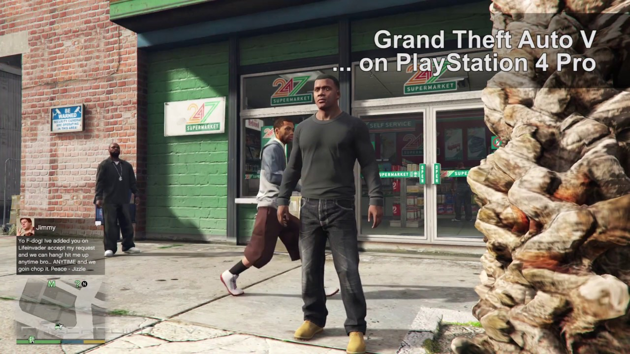 grand theft auto v playstation 4 gameplay
