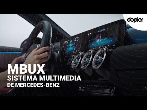 MBUX Mercedes-Benz: Conoce el futuro de los sistemas multimedia