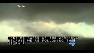 KFOR TV - Multivortex tornado footage may 31st 2013