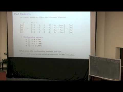 Statistics for Engineers - Class 09B - 4C3-6C3 2014