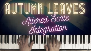 Autumn Leaves - Scales for Improvisation │Jazz Piano Lesson #38