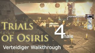 Trials of Osiris Verteidiger Walkthrough #4 BESTES LOOT | Deutsch | HD