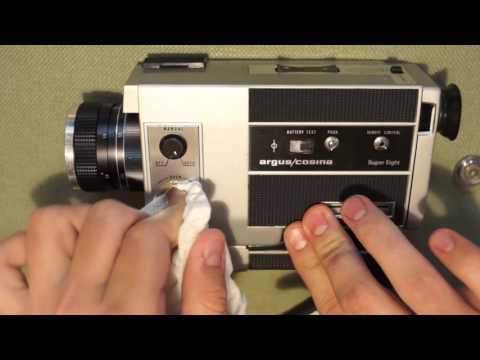 Super 8 Camera Repair