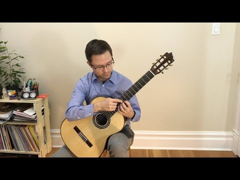 Lesson: Study No.14, Op.60 by Carcassi for Classical Guitar