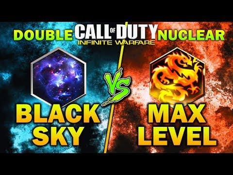 Double Nuke For BLACK SKY CAMO vs 30TH PRESTIGE (Max Prestige) In Infinite Warfare