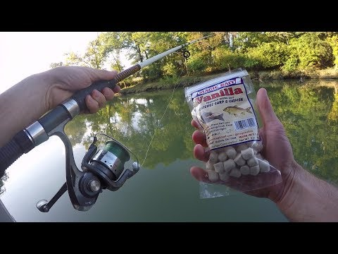 Catching Catfish With Dough Bait (Magic Bait)