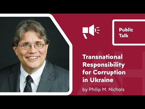TRANSNATIONAL RESPONSIBILITY FOR CORRUPTION IN UKRAINE