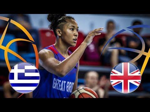 Greece v Great Britain – FIBA U20 Women's European Championship Division B 2018