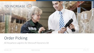 Sales Order Picking in AX Anywhere   Logistics for Microsoft Dynamics AX