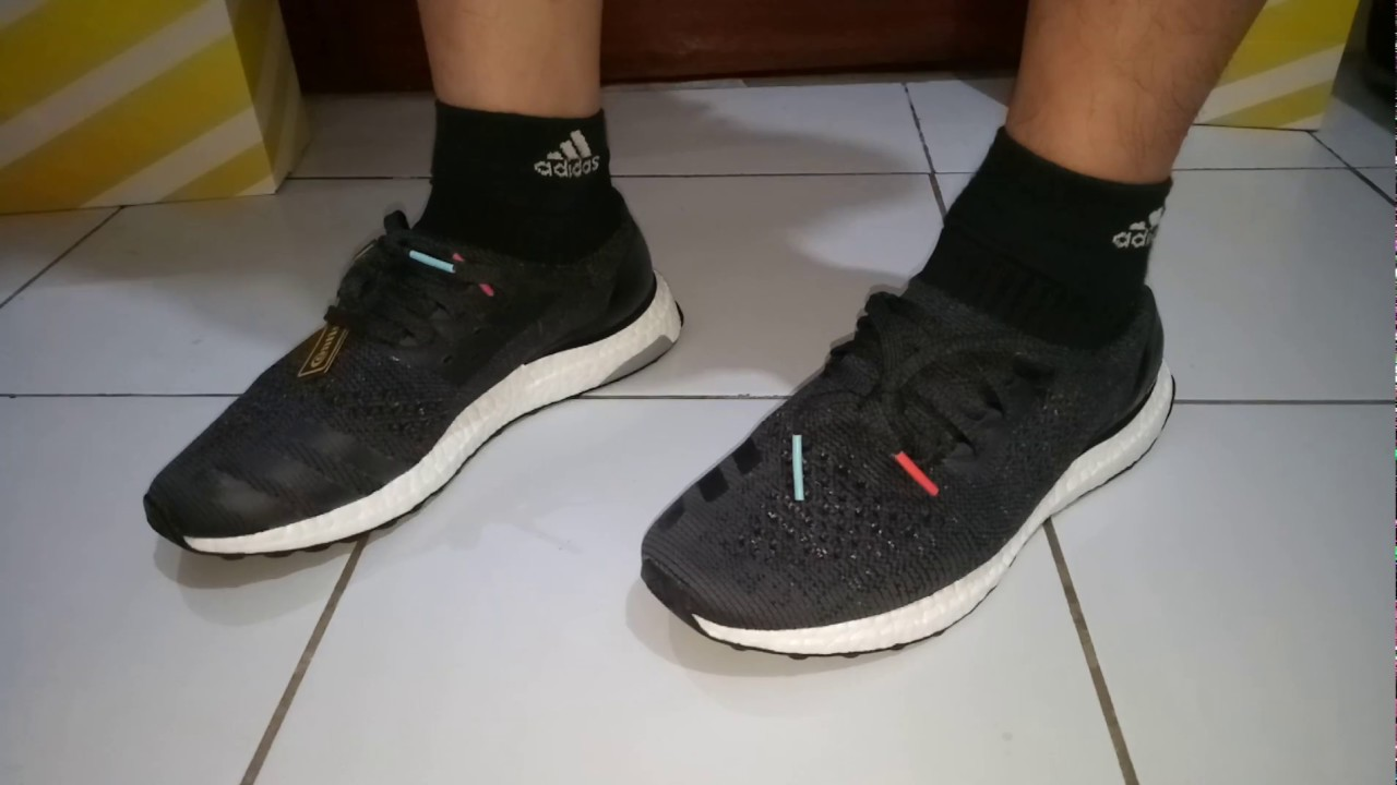 cf448ca854513 ON FEET ADIDAS ULTRABOOST UNCAGED MULTICOLOR - YouTube