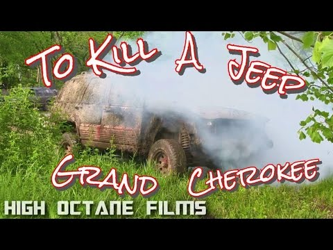 TRYING TO KILL A JEEP GRAND CHEROKEE THROTTLE STUCK WIDE OPEN