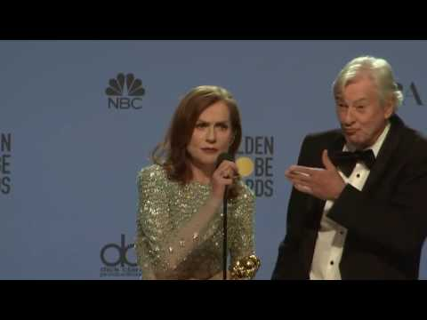Thumbnail: Isabelle Huppert - Golden Globes 2017 - Full Backstage Interview