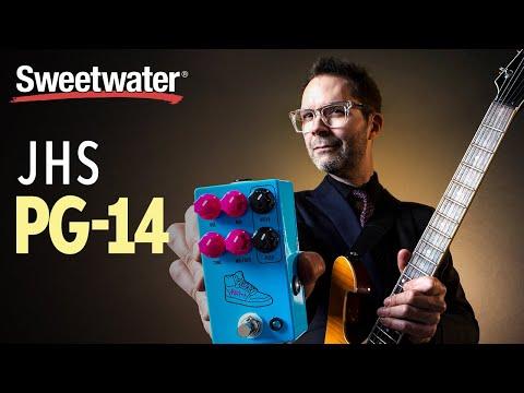 Distortion Guitar Effects Pedal JHS Pedals Paul Gilbert PG-14 Overdrive