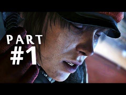 Beyond Two Souls Gameplay Walkthrough Part 1 - Embassy