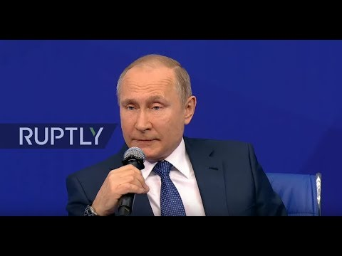 LIVE: Putin meets with election headquarters representatives in Moscow
