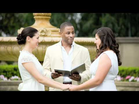 The Wedding Matters: Carmen and Rose (married July 20, 2008)