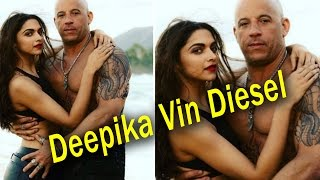 Deepika Padukone Vin Diesel Hot & Intimate in XXX : The Return of Xander Cage