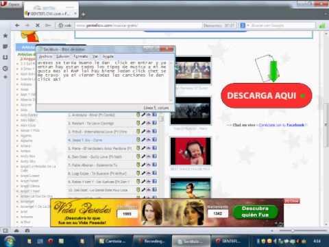 Descargar musica gratis sin virus (tutoria)