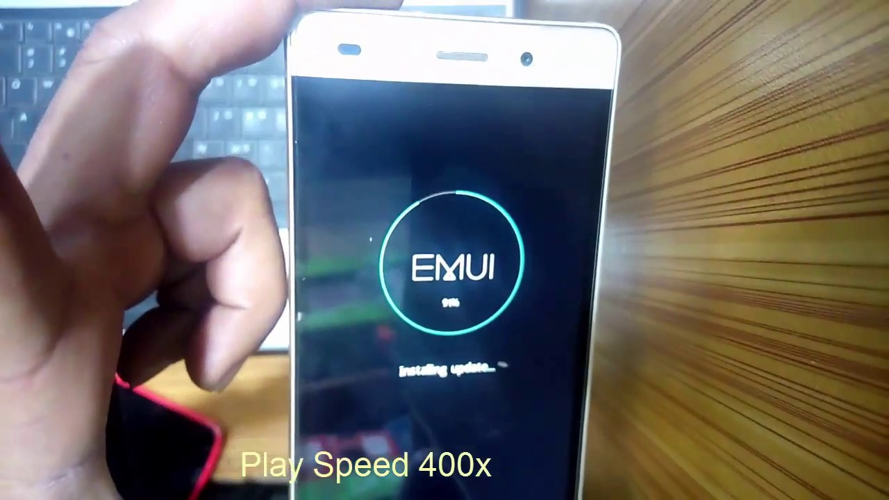 How flash Huawei P8 lite Software with memory card - Simple
