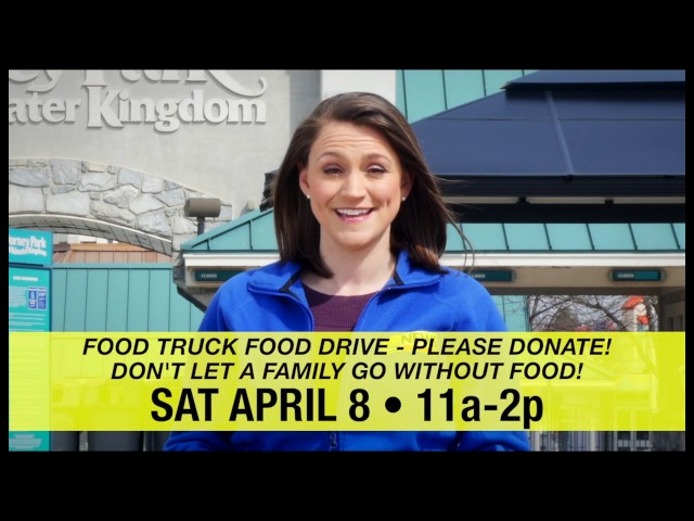 Food Truck Food Drive - April 8th