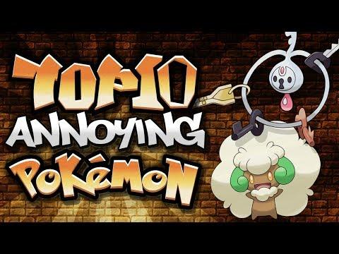 Top 10 Annoying Pokémon! (Feat. Trickywi)