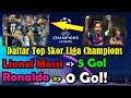 Daftar Top Skor Liga Champions 2018/2019   Lionel Messi 5 Gol, Ronaldo 0 Gol!