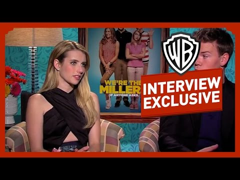 Les Miller une famille en herbe - Interview Emma Roberts et Will Poulter poster