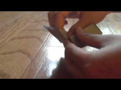 How To Make An Origami Ring Box Youtube