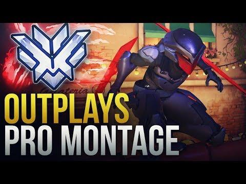 WHEN PROS MAKE INSANE OUTPLAYS - Overwatch Montage thumbnail