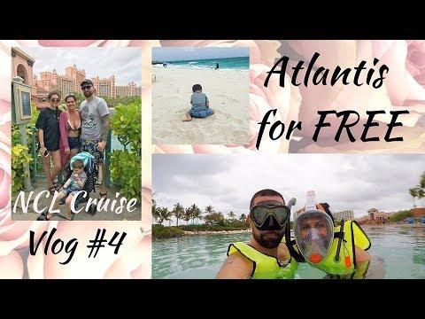 Atlantis for FREE ~ 2019 NCL Escape Cruise Vlog - Nassau Paradise Island