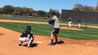 Yankees' Aaron Judge bats left-handed