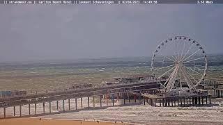 Preview of stream Live Scheveningen Noord Boulevard en Beach Camera