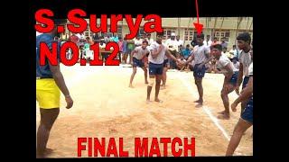 Inter College Kabaddi Match Final   Donbosco College Yelagiri Hills VS Islamiaha College Vaniyambadi