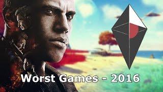 Top 5 - WORST 2016 أسوأ خمس ألعاب