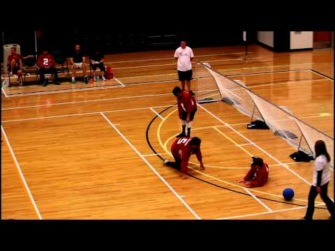 IBSA World Youth Goalball Championship 2015-5th place game-Korea vs Canada 2nd Half